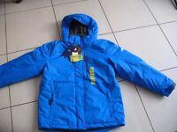 Free country blue ski all seasons jacket medium age 10/12