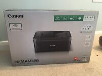 CANON PIMXA MX495 WIRELESS SCANNER PRINTER