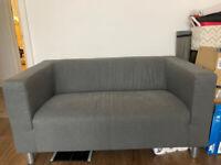 Grey sofa IKEA