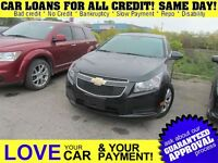 2012 Chevrolet Cruze LT Turbo * CAR LOANS FOR ALL CREDIT SITUATI