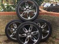 24 inch alloy wheels