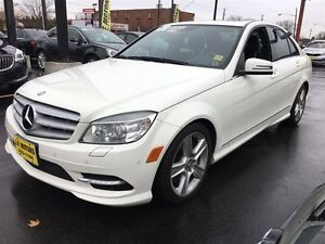 2011 Mercedes-Benz C-Class C300, Automatic, Leather, Sunroof, AW