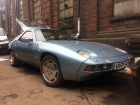 Porsche 928 4.5 auto - has rust issues - private plate worth 2k - very nice project