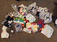 Bundle of 0-3 month baby clothes