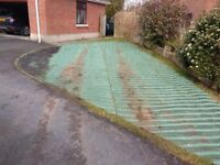 ECO GRASS PROTECTOR (lets you park on your lawn)