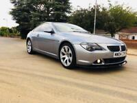 BMW 645CI-2004-FULL CLEAN-PANORAMIC SUNROOF-FULL SERVICE-BIG SAT-AUTOMATIC-PARROT-RUNS LIKE NEW-HPI