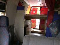 Converted ldv convoy campervan