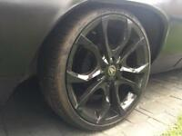 """20"""" alloy wheels Tyres 225/35/19 5x127 Cadillac Jeep Buick Olds Truck Chevy"""