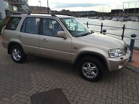 AUTOMATIC 4/4, Honda CRV , leather trim , new mot