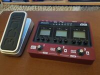 Zoom B3 and Expression Pedal.