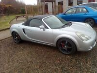 2005 (Dec) Toyota MR2 Roadster, lovely condition, low miles, hardtop, 12 months MOT, not MX5, Elise