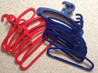 16 Sturdy Plastic Adult IKEA Clothes Hangers