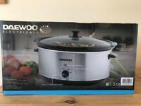 Daewoo 6.5L slow cooker