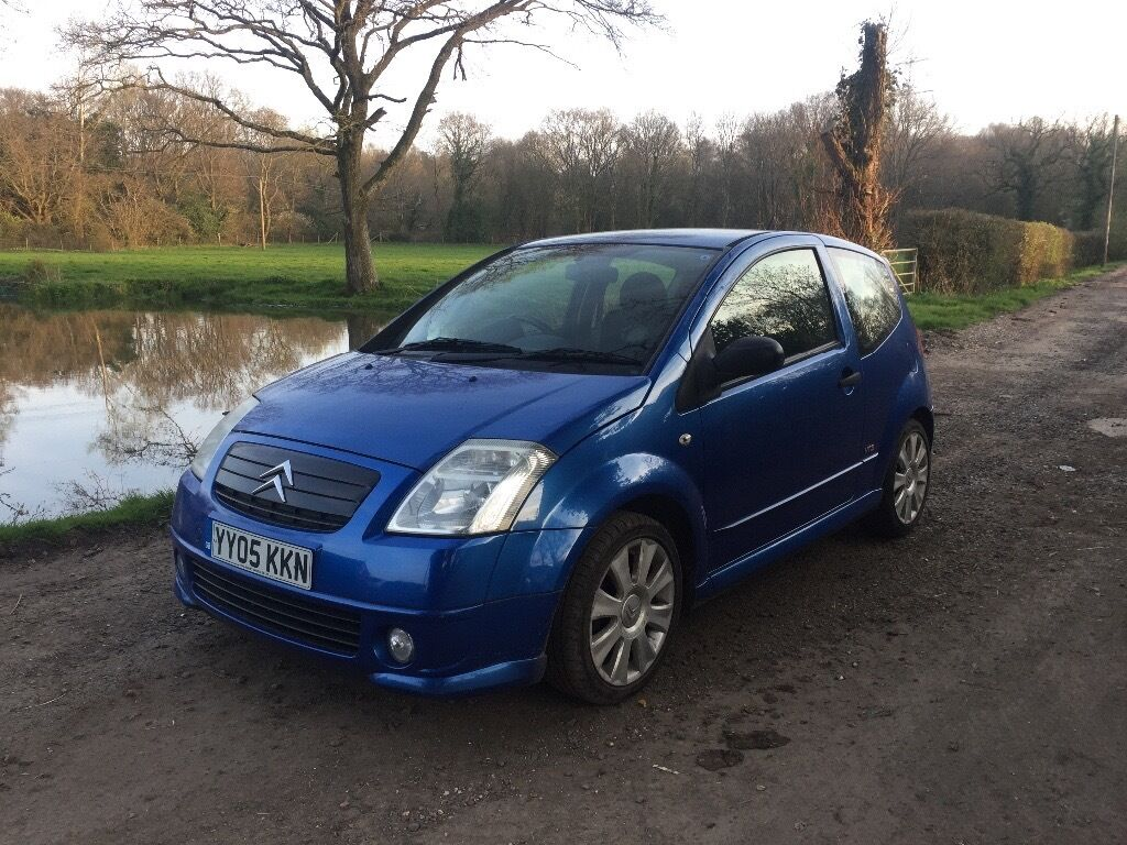citroen c2 vts 2005 blue in romsey hampshire gumtree. Black Bedroom Furniture Sets. Home Design Ideas