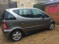 Mercedes A Class, 12 months MOT, 88000 miles, good condition, 3 owners