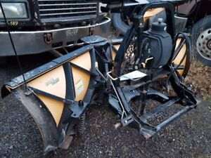 8.5 Fisher V Plow for sale in excellent condition
