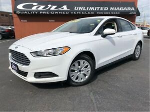 2014 Ford Fusion S | LOW MILEAGE | NO ACCIDENTS | FULL SERVICE .