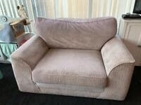 Cuddle chair.