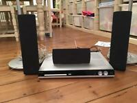 Philips surround sound system and DVD player.