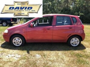 2004 Chevrolet Aveo LS HATCH/ KEYLESS/ CDMP3/ AC/ AS-TRADED!!
