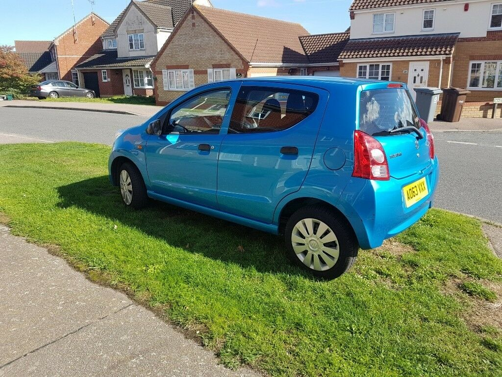 6b9cfe1d81af6b 2013 Suzuki Alto Blue 1 owner from new excellent condition 47,000 miles 12  month MOT