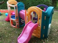 Little tikes 8 in 1 outdoor play frame