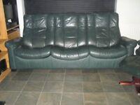 Leather Sofa Ekornes Recliner .