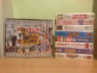 8 x The Beatles vhs video tapes including Beatles Anthology Help / A hard days night special edition