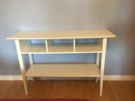 White Ikea side table/ sideboard