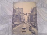 NEW YORK street scene THE RECORD / NY Photograph Art