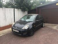 Ford Fiesta Mk 6 starts and drives with no issues. No MOT