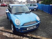 2004 MINI ONE 1.6L-- PANOROMIC TWIN SUNROOF—WARRANTY 3 MONTHS