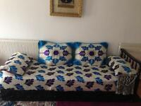 Lovely Moroccan sofa covers and cushion covers