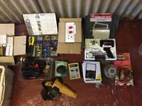 Assorted electrical materials