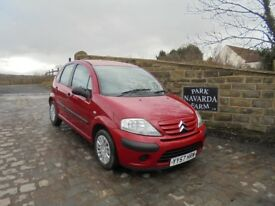 Citroen C3 Cool In Red, 2007 57 reg, Only One Former Owner, Last Owner From 2009, Service History