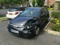 2009 Hyundai I30 1.4 petrol spares or repairs damaged salvage