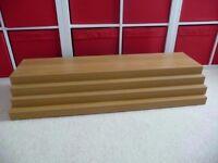 Ikea Lack Shelves x 4
