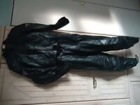 Hein Gericke Ladies leather Jacket & Trousers size 8 Fully Armoured