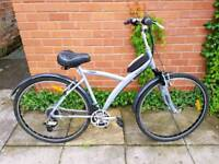 Btwin Hybrid Bike Aluminium Frame with Front Suspension