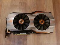 RARE ASUS ROG GTX 980 TI MATRIX 6GB (+backplate) GDDR5 High end GPU nvidia graphic card 980TI