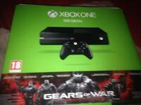 Xbox one and 3 games