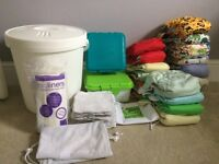 Re-usable nappy kit - birth to potty