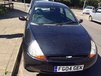 FORD KA BLACK CLEAN CAR 2004