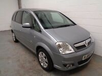 VAUXHALL MERIVA , 2006 REG , ONLY 67000 MILES + HISTORY JUST SERVICED, YEARS MOT , FINANCE, WARRANTY