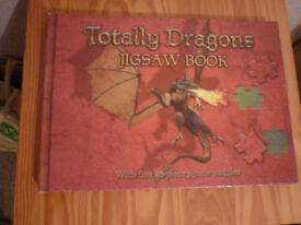 Dragon Jigsaw Book - 5 x 48 piece jigsaw puzzles