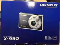 Olympus FE-5020/X-930 digital camera and all accessories boxed as new