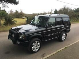 """Land Rover Discovery Td5 Xs 7 Seater Manual New Mot, 2"""" lift kit all terrain tyres"""