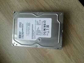 Western digital 250gb computer hard drive