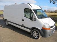 Renault Master Van Fitted with heated wash machine & water tank. Van needs repair only £2250 NO VAT