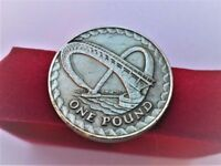 2007 - Gateshead Millennium Bridge – One Pound Coin – Royal Mint Abnormality